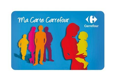 Carte fidélité Magasins CARREFOUR